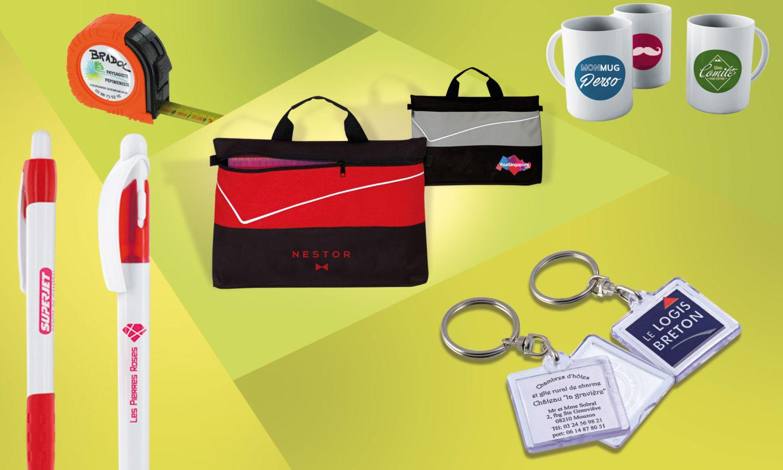 objets goodies publicitaires personnalisés