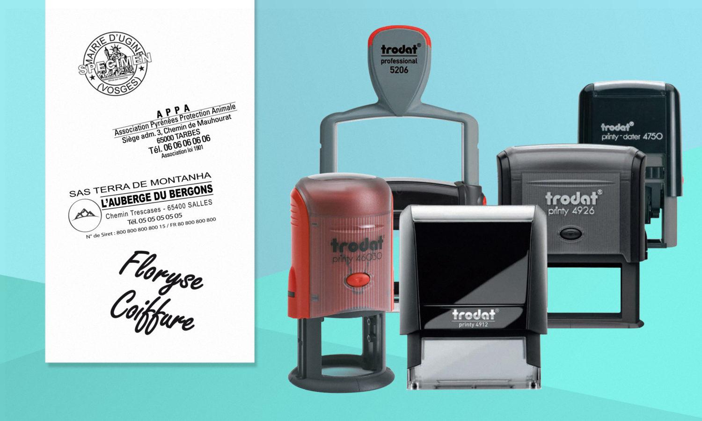 gravure laser tampon professionnel administratif officiel