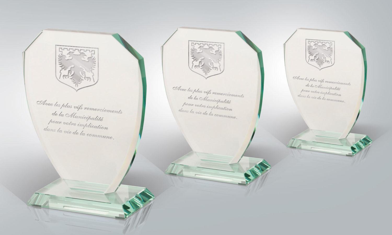 GRAVURE Trophée Inauguration remerciement événementiel
