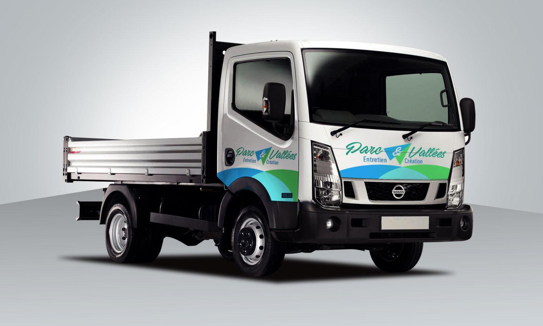 Habillage camion utilitaire entreprise artisan