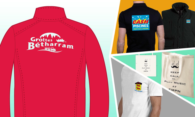 Textiles t-shirt publicitaires personnalisés